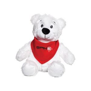 The Robbie Teddy Bear & Bandana - Red